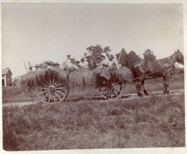 Hayride in Prior Lake c1898